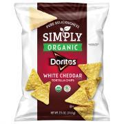 Simply Organic Doritos White Cheddar Tortilla Chips