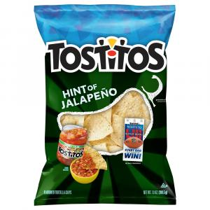 Tostitos Hint of Jalapeno Tortilla Chips