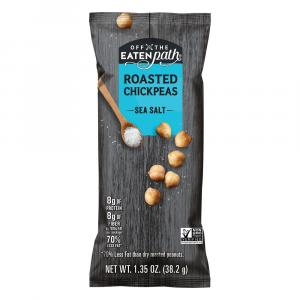 Off the Eaten Path Roasted Chickpeas with Sea Salt