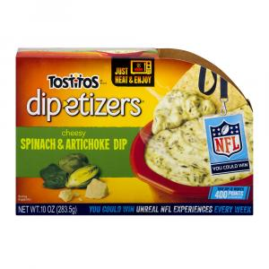 Tostitos Dip-itizers Spinach & Artichoke Dip