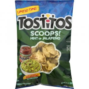 Tostitos Hint of Jalapeno Scoops Tortilla Chips