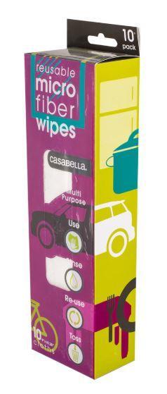 Casabella Micro Fiber Wipes