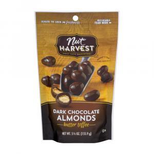 Nut Harvest Dark Chocolate Butter Toffee Almonds