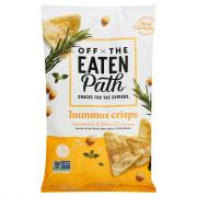 Off the Eaten Path Hummus Crisps Rosemary & Olive Oil