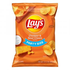 Lay's Party Size Cheddar & Sour Cream Potato Chips