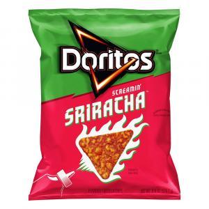 Doritos Screamin' Sriracha Tortilla Chips
