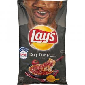 Lay's Deep Dish Pizza Flavored Potato Chips