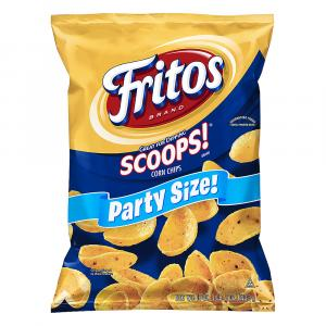 Fritos Scoops Corn Chips Party Size