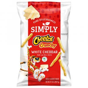 Simply Cheetos Crunchy White Cheddar Snacks