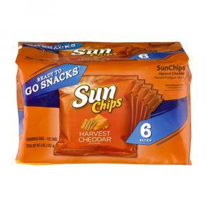 Sun Chips Harvest Cheddar Singles