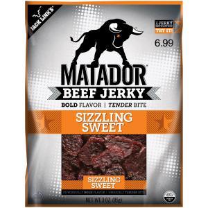 Matador Sizzling Sweet Jerky