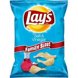 Lay's Family Size Salt & Vinegar Potato Chips