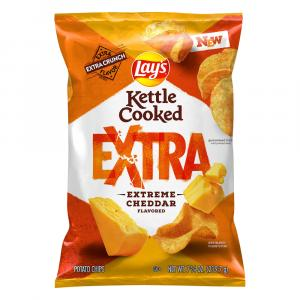 Lays Kettle Extra Extreme Cheddar