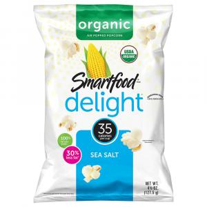 Smartfood Delight Sea Salt Organic Popcorn