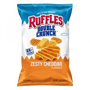 Ruffles Double Crunch Zesty Cheddar Chips