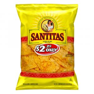 Santitas Tortilla Triangles Yellow Corn
