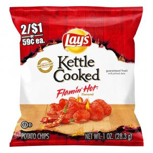 Lay's Kettle Cooked Flamin' Hot Chips