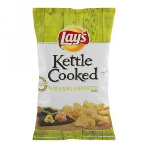 Lay's Kettle Cooked Wasabi Ginger Chips