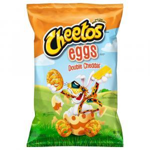 Cheetos Eggs Double Cheddar