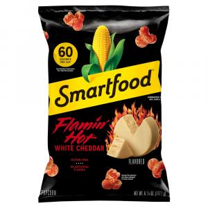 Smart Food Flamin' Hot White Cheddar Popcorn