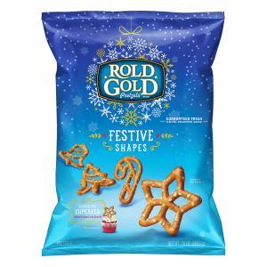 Rold Gold Festive Shapes Pretzels