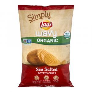 Lay's Simply Wavy Organic Chips