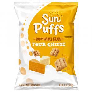 Sun Puffs Four Cheese Whole Grain Snacks