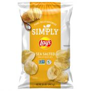 Lay's Natural Thick Cut Sea Salt Potato Chips