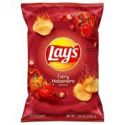 Lay's Fiery Habanero Potato Chips