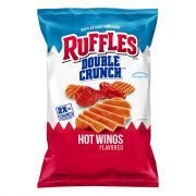 Ruffles Double Crunch Hot Wings Chips