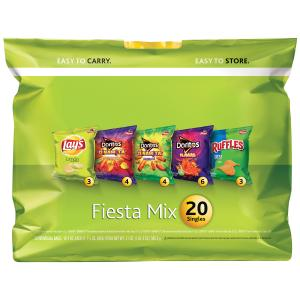 Lay's Fiesta Mix 20 Count Snacks