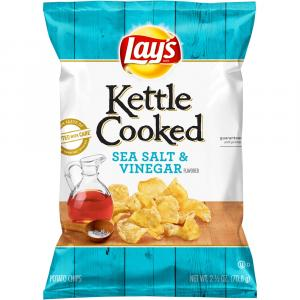 Lay's Kettle Sea Salt & Vinegar