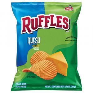Ruffles Potato Chips Queso