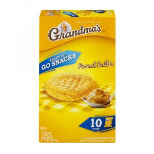 Grandma's Ready To Go Peanut Butter Cookies 10 Pack