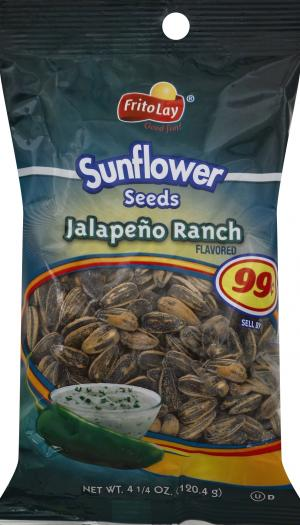 Frito Lay Jalapeno Ranch Sunflower Seeds
