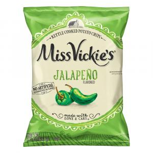 Miss Vickie's Kettle Cooked Potato Chips Jalapeno