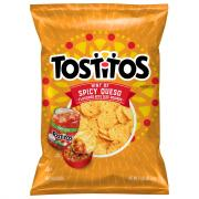 Tostitos Hint Of Spicy Queso Flavored Tortilla Chips
