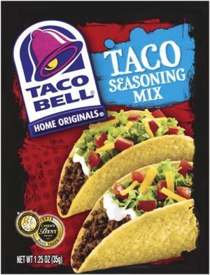 Taco Bell Taco Seasoning Mix