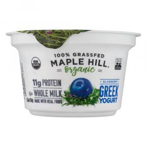 Maple Hill Organic Greek Blueberry Yogurt