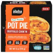 Alpha Foods 100% Plant-Based Buffalo Chick'n Pot Pie
