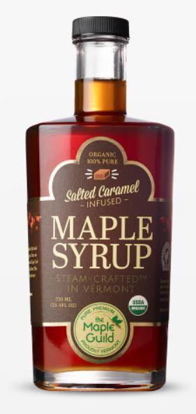 Maple Guild Organic Salted Caramel Maple Syrup