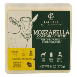 LaClare Farms Creamery Goat Milk Cheese Mozzarella