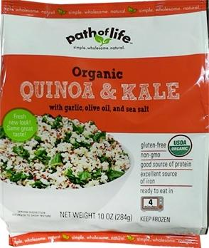 Path Of Life Quinoa And Kale