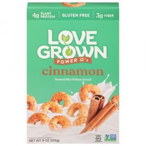 Love Grown Foods Cinnamon Power O's Cereal