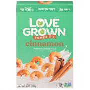 Love Grown Foods Cinnamon Power O's Cereal