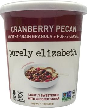 Purely Elizabeth Cranberry Pecan Granola Cup