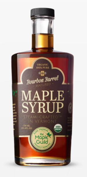 Maple Guild Organic Bourbon Barrel Maple Syrup