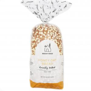 The Bread Shed Honey Oat Bread