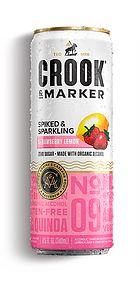 Crook & Marker Strawberry Lemon Spiked & Sparkling