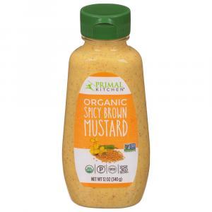 Primal Kitchen Organic Spicy Brown Mustard